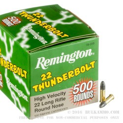 5000 Rounds of .22 LR Ammo by Remington - 40gr LRN