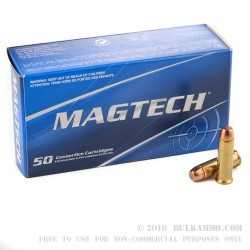 1000 Rounds of .38 Spl Ammo by Magtech - 158gr FMC
