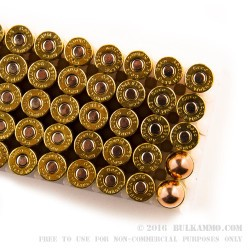 50 Rounds of 9x18mm Makarov Ammo by GECO - 95gr FMJ