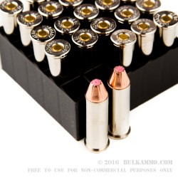 25 Rounds of .38 Spl Ammo by Hornady - Critical Defense Lite - 90gr FTX