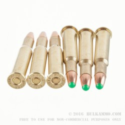 20 Rounds of 30-30 Win Ammo by Nosler Ammunition - 150gr Nosler Ballistic Tip