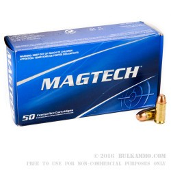 50 Rounds of .40 S&W Ammo by Magtech - 165gr FMC