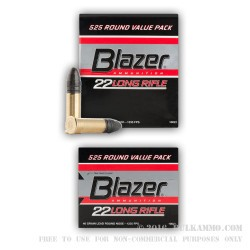5250 Rounds of .22 LR Ammo by CCI - 40gr LRN