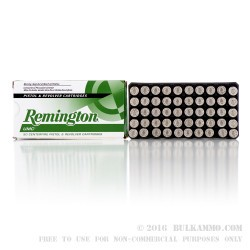 500  Rounds of 10mm Ammo by Remington - 180gr MC
