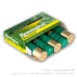 250 Rounds of 12ga Ammo by Remington Express -  00 Buck