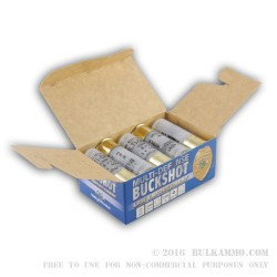 10 Rounds of 12ga Ammo by NobelSport -  #1 Buck
