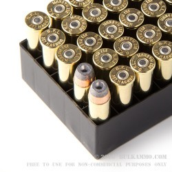 1000 Rounds of .357 Mag Ammo by Fiocchi - 125gr SJHP
