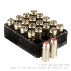 20 Rounds of .40 S&W Ammo by PNW Arms - 140gr SCHP