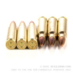 20 Rounds of 30-06 Springfield Ammo by Remington UMC - 150gr MC