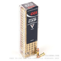 5000 Rounds of .22 LR Ammo by CCI - 36gr CPHP