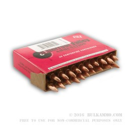20 Rounds of .223 New Ammo by BVAC - 55gr FMJ