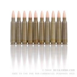500  Rounds of .223 Ammo by Brown Bear - 55gr HP