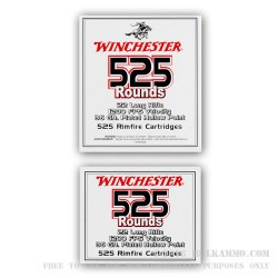 525 Rounds of .22 LR Ammo by Winchester - 36gr CPHP
