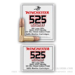 5250 Rounds of .22 LR Ammo by Winchester - 36gr CPHP