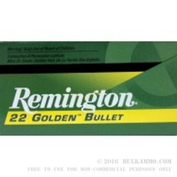 500  Rounds of .22 LR Ammo by Remington - 40gr CPRN