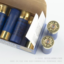 250 Rounds of 12ga Ammo by NobelSport LE -  00 Buck