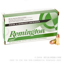 500  Rounds of .32 ACP Ammo by Remington - 71gr FMJ