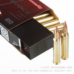 300 Winchester Magnum - 150 Grain GMX - Hornady Superformance - 20 Rounds