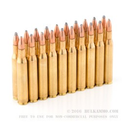 20 Rounds of .270 Win Ammo by Remington - 100 gr PSP