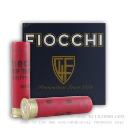 250 Rounds of 28ga Ammo by Fiocchi -  #8 shot