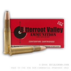 20 Rounds of 30-30 Win New Ammo by BVAC - 150gr SP