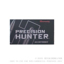 20 Rounds of .308 Win Ammo by Hornady Precision Hunter - 178gr ELD-X