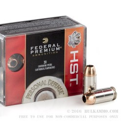 200 Rounds of .45 ACP Ammo by Federal - 230gr JHP