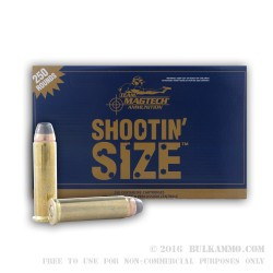 250 Rounds of .357 Mag Ammo by Magtech - 158gr SJSP