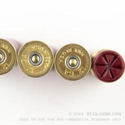 5 Rounds of 12ga Ammo by Federal LE with FliteControl Wad-  00 Buck