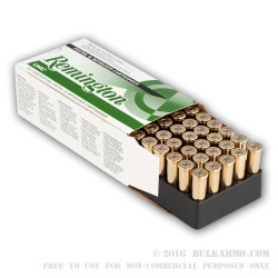 50 Rounds of .38 Spl Ammo by Remington - 125gr SJHP