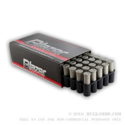 50 Rounds of .38 Spl +P Ammo by CCI Blazer Cleanfire - 158gr TMJ
