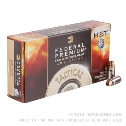 1000 Rounds of .357 SIG Ammo by Federal - 125gr JHP