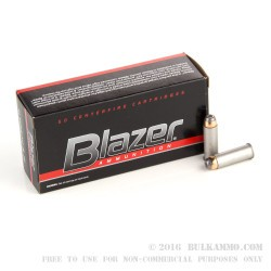 50 Rounds of .44 Mag Ammo by CCI - 240gr JHP