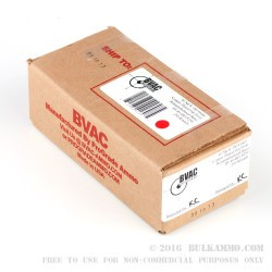 250 Rounds of .40 S&W Ammo by BVAC - 180gr PFP