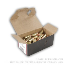 50 Rounds of .40 S&W Ammo by BVAC - 180gr FMJ
