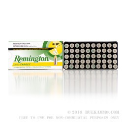 50 Rounds of .40 S&W Ammo by Remington Nickel Plated- 180gr MC