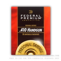 20 Rounds of .410 Ammo by Federal -  #4 Buck