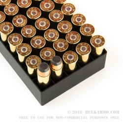 50 Rounds of .44 Mag Ammo by Fiocchi - 240gr SJSP