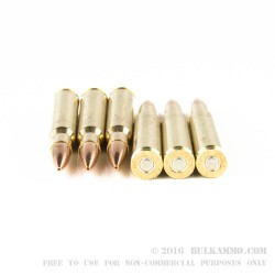 20 Rounds of 30-06 Springfield Ammo by Fiocchi - 168gr Sierra MatchKing