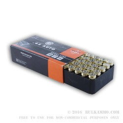 50 Rounds of .45 ACP Ammo by RWS - 230gr FMJ