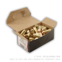 50 Rounds of .45 ACP Remanufactured Ammo by BVAC - 230gr FMJ