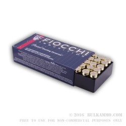 1000 Rounds of .45 ACP Small Pistol Primer Ammo by Fiocchi - 230gr FMJ