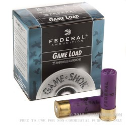 250 Rounds of 16ga Ammo by Federal - 1 ounce #6 shot