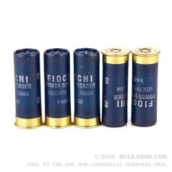 25 Rounds of 12ga Ammo by Fiocchi - 1 1/8 ounce #8 shot