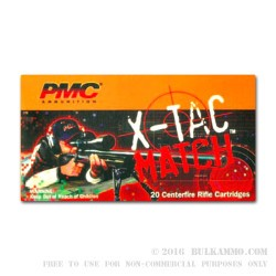10 Rounds of .50 BMG Ammo by PMC - 740gr Brass Solid