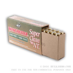 20 Rounds of 5.56x45 Ammo by Winchester Super Clean NT - 55gr JSP