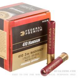 200 Rounds of .410 Ammo by Federal -  000 Buck
