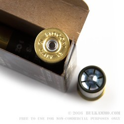 5 Rounds of 12ga Ammo by Fiocchi - 1 ounce Slug