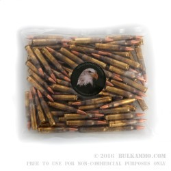 100 Rounds of .223 Ammo by MBI - 55gr FMJBT