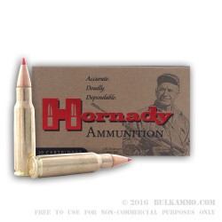 20 Rounds of 6.8 SPC Ammo by Hornady - 120gr SST